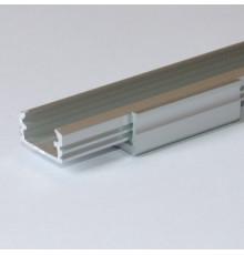 Bracket - L-Shape - silver anodized - for P2, P3, KH2 LED aluminium profiles