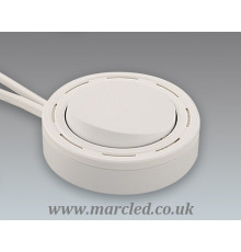 Main Switch, Furniture, 220V - 240V, 2.5A, white / white, Surface and Recessed Instalaltion