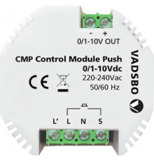 CMP Control Module Push 0/1-10V – Signal 0/1-10V and Pushbutton