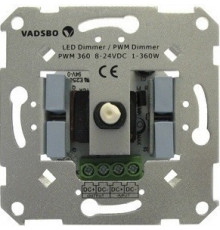 Vadsbo, PWM360A, LED dimmer  for 8-24Vdc constant voltage diodes