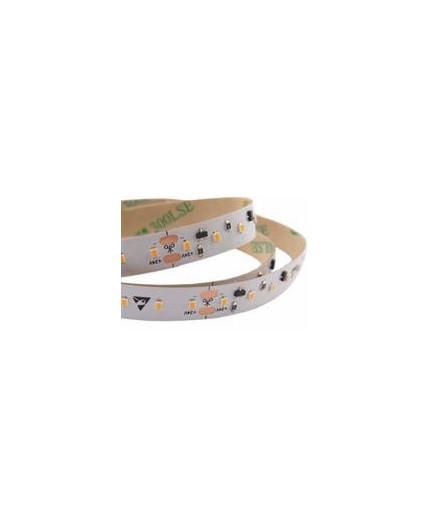 24VDC LED tape, ultra warm white 1800K, CRI90+, 9.6W/m, 120LED/m, IP20, 5m (48W, 600 LED), SMD2216
