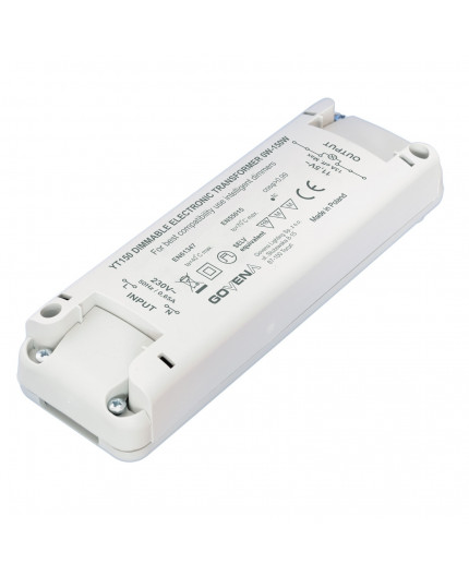 0 - 150W 12VAC Low Voltage Dimmable Electronic Transformer YT150