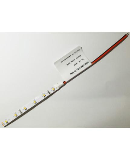 Sample of 24VDC LED tape, warm white 3000K CRI95+ 7.2W/m IP20, SMD3528