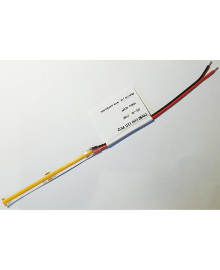 Sample of 24VDC LED tape, warm white 2700K, CRI90+, 14W/m, COB, IP20