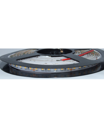 24VDC LED tape, warm white 2200K, 9.6W/m, 120LED/m, 5m, IP54, SMD3528