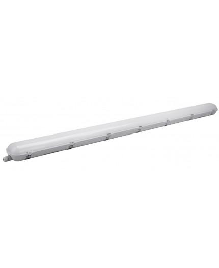 LED batten lamp, 40W, 4000K, cool white, IP65, IK08