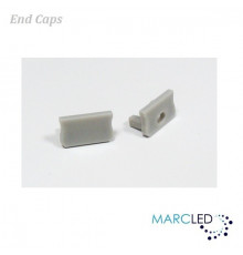Additional end cap for LED profile K2