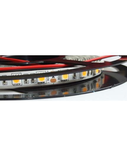 12VDC LED tape, warm white 2700K, 14.4W/m, 60LED/m, IP20, 5m, SMD5050
