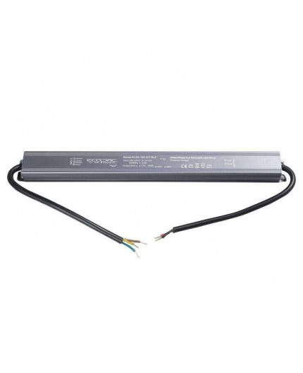 100W, ELED-100-12T-SLP, Mains to 12Vdc Triac dimmable LED driver, IP66