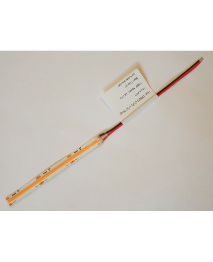 Sample of 24VDC LED tape, 2200K, CRI90+, 18W/m, COB, IP20