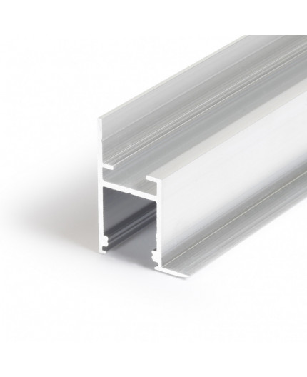 3m Alu-Ceiling LED profile C1 (raw alu) for plaster boards, diffuser