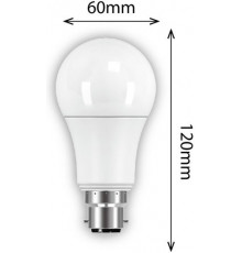 9w GSL B22 806lm 2700K LED Lamp, Non-dimmable