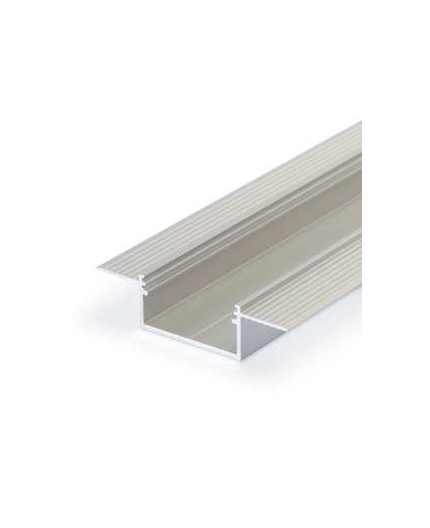 3m Alu-Ceiling LED profile C3L (raw alu) for plaster boards opal cover