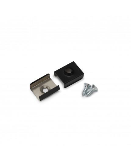 T2 metal clip spring Black for LED profile