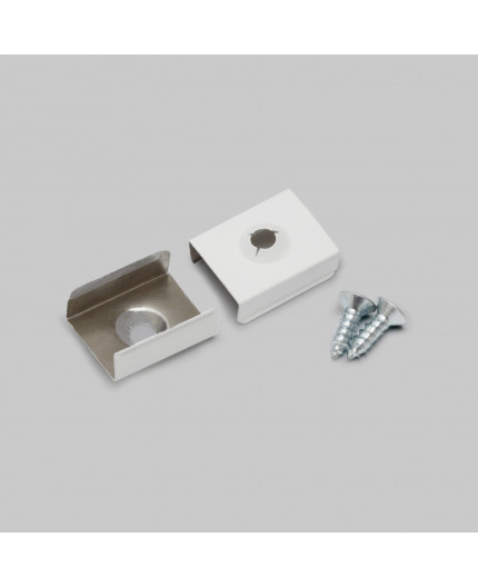 T2 metal clip spring White for LED profile