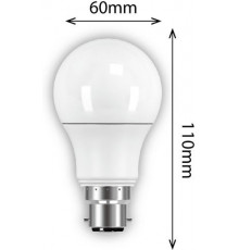 6.3w GSL B22 470lm 2700K LED Lamp, Non-dimmable