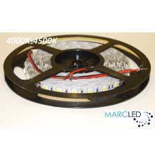 24VDC LED Flexible Strip (tape) 4000-4500K SMD5060, 14.4W/m, 60 LEDs/m, IP20, 5m  (5000mm)