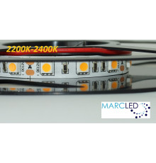 12VDC LED Strip 2200K-2400K SMD5060, 14.4W, 60 LEDs, IP20, 1m (1000mm)