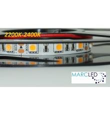 12VDC LED Strip 2200K-2400K SMD5060, 14.4W, 60 LEDs, IP20, 1m (1000mm)