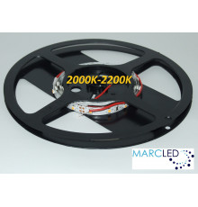 12VDC LED Flexible Strip 2000K-2200K SMD3528 60 LEDs, 4.8W, IP20, 1m (1000mm)