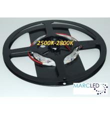 12VDC LED Flexible Strip 2700K SMD3528, 60 LEDs, 4.8W, IP20, 1m  (1000mm)