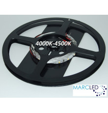 12VDC LED Flexible Strip 4000-4500K SMD3528 4.8W, 60 LEDs, IP20, 1m