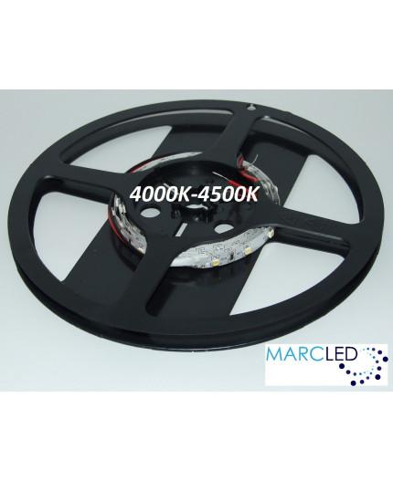12VDC LED tape, natural white 4000K, 4.8W/m 60 LED/m, 1m IP20, SMD3528