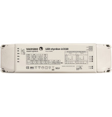 LCC60 driver and dimmer for constant current and voltage LED lights up to 2x30W