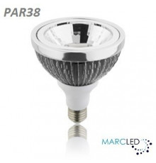 22W, PAR38, AC200-240V, E27 Edison ES, LED Lamp, Warm White, Dimmable, 40Degree Lens