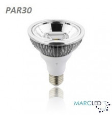 15W PAR30 E27 200-240V LED Spot Lamp Dimmable Warm White 20Degree