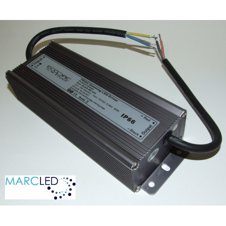 12Vdc 80W Triac dimmable LED driver, ELED-80-12T