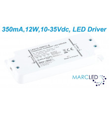 12W 350mA Constant Current LED Driver, Govena