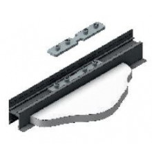 Connector 180degree, straight, for profile C1