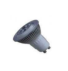 6W AC200-240V LED Lamp GU10 warm white dimmable