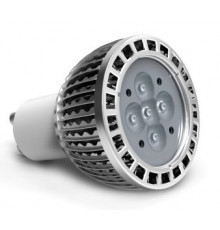 5W GU10 240V LED Spot Lamp (CREE), Spotlight, Light Bulb, Warm white, non-dimamble
