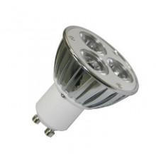 GU10 4W 100-240V LED Spot Lamp, Spotlight, Warm White, Non-Dimmable