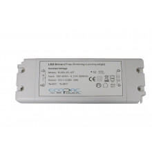 12Vdc 25W Triac dimmable (leading edge) LED driver, ELED-25-12T