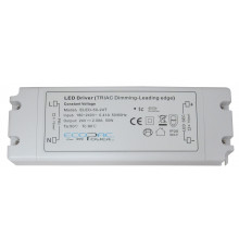 24Vdc 50W Triac dimmable (leading edge) LED driver, ELED-50-24T