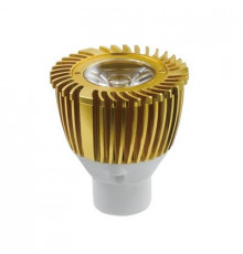1W MR11 GU4 12V LED Spot Lamp, Gold, Warm White, non-dimmable