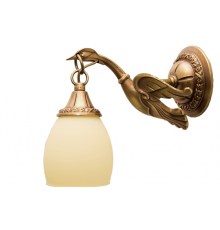 Cast Brass Wall Light