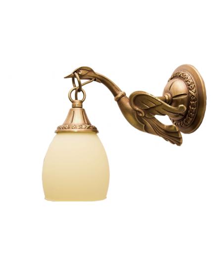 Cast Brass Wall Light