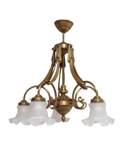 Solid Brass Pendant Light 1