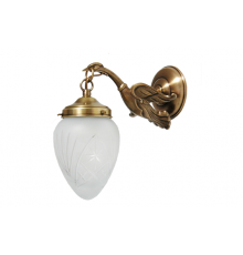 Cast Brass Wall Light 4
