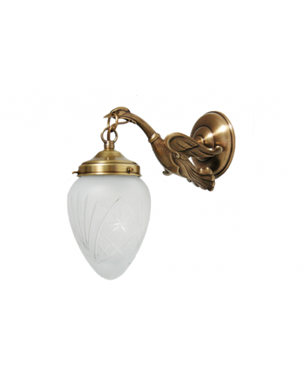 Solid Brass Wall Light 2