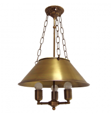 Solid Brass Pendant Light 2