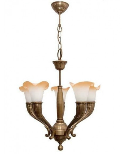 Solid Brass Pendant Light 5