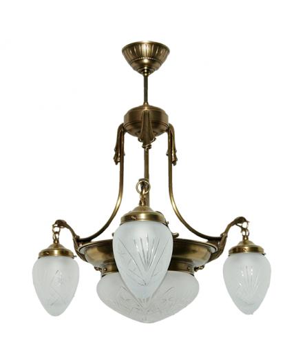 Solid Brass Pendant Light 11
