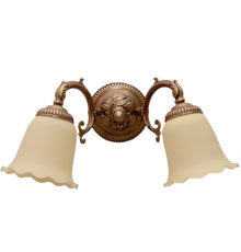 Solid Brass Wall Light 24