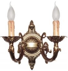 Solid Brass Wall Light 27