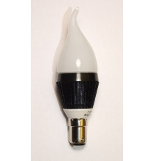 3W B15LED Lamp, Milky Candle Bulb, Warm White, Dimmable, 20W-25W Equivalent